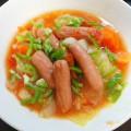 No.52野菜たっぷりソーセージ・スープ