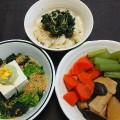 No.74大根・椎茸・高野豆腐・フキ・ニンジンを使った創作和食
