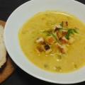 No.84残りのカボチャ煮物を使ったカボチャ・スープ