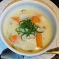 No.17カブと里芋のホワイト・シチュー